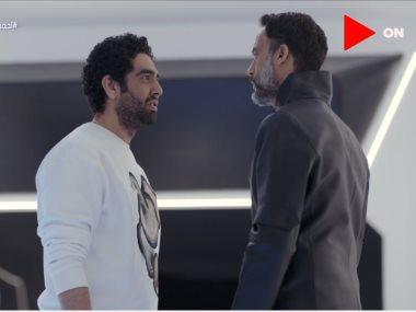"""يوسف الشريف ومحمد كيلانى فى مسلسل """"النهاية"""""""