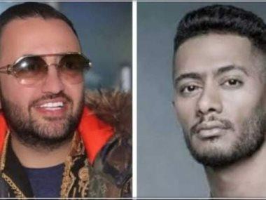 محمد رمضان و حسام الحسينى