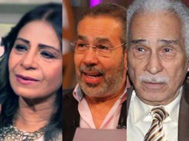 عبد الرحمن أبو زهرة ومدحت العدل وعفاف مصطفى