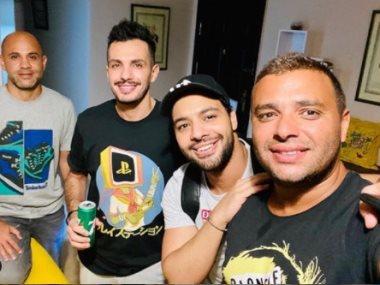 رامى صبرى وأحمد جمال والموزع أحمد إبراهيم وعزيز الشافعى  