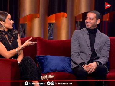 محمد فراج وأمينة خليل