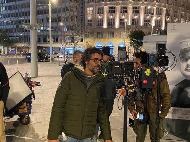 المخرج أحمد علاء فى كواليس هجمة مرتدة