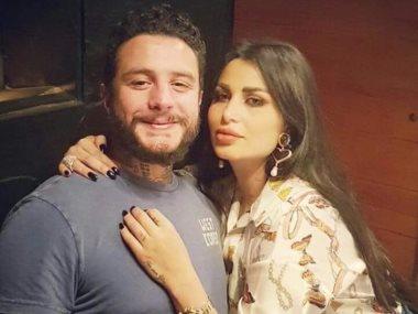 أحمد الفيشاوى و زوجته
