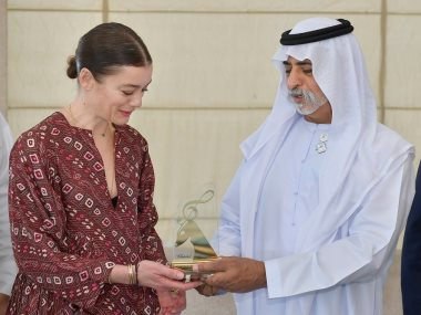 مهرجان أبوظبى 2019 يكرم مديرة باليه دار أوبرا باريس