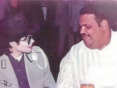 نبيل شعيل مع مايكل جاكسون