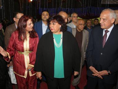إيناس عبد الدايم وزيرة الثقافة