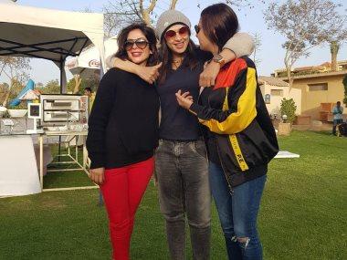 ياسمين عبد العزيز و منى زكى