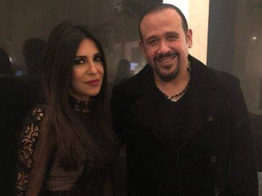 هشام عباس وانجى انور