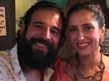 حنان مطاوع وزوجها المخرج أمير اليمانى