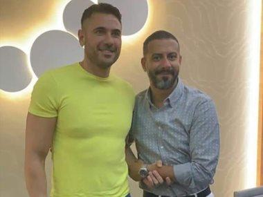 احمد عز ومحمد فراج من عرض فيلم الممر