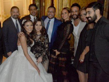 حفل زفاف علياء الحسينى