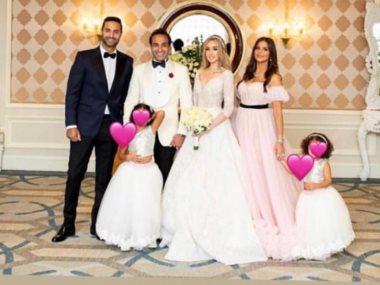 كريم فهمى من حفل زفاف شقيقه أحمد فهمى وهنا الزاهد