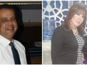 رانيا الجبالى و محمد غنيم