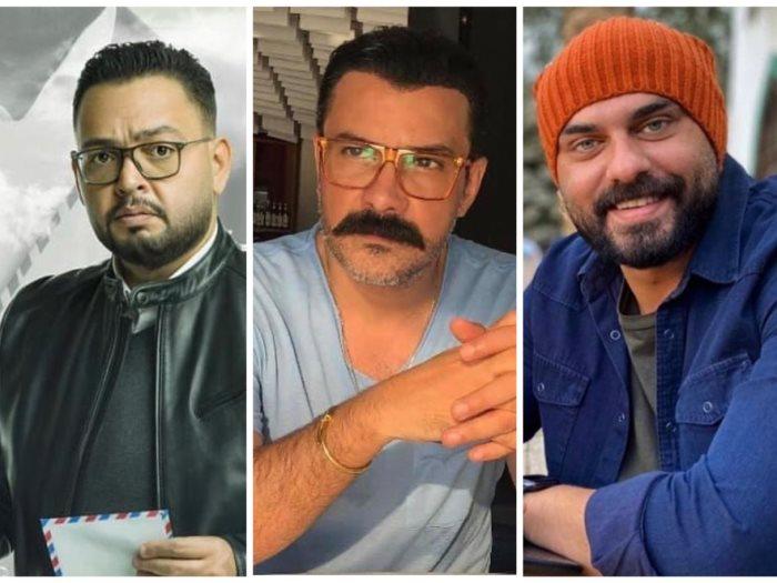 أحمد صلاح حسنى ومحمد رجب وأحمد رزق