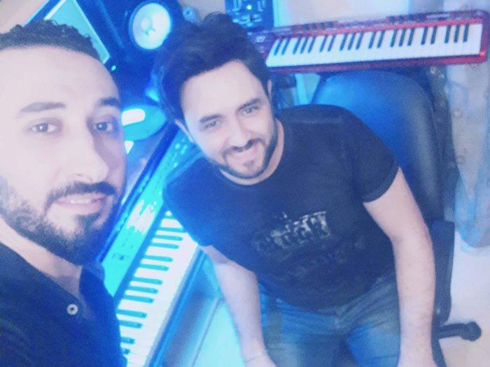 رضا مندور والملحن محمود أنور