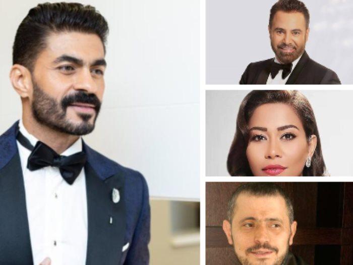 خالد سليم وعاصي الحلانى وشيرين عبد الوهاب وجورج وسوف