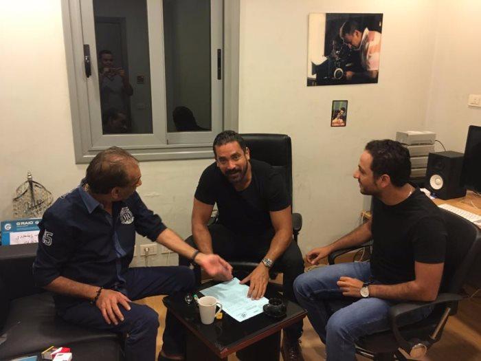 أمير كرارة وبيتر ميمى ومحمد السبكى