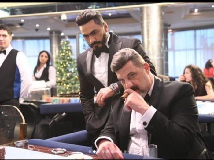 تامر حسنى و خالد الصاوى