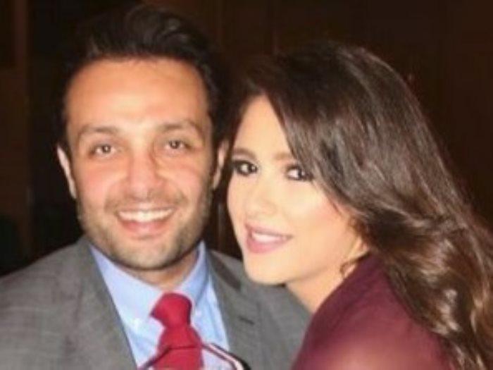 ياسمين عبد العزيز وشقيقها وائل