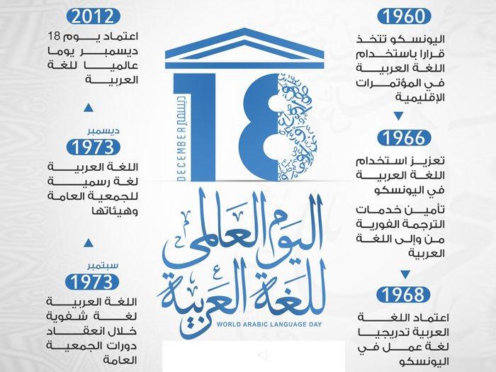 شعار يوم اللغة العربية 1441
