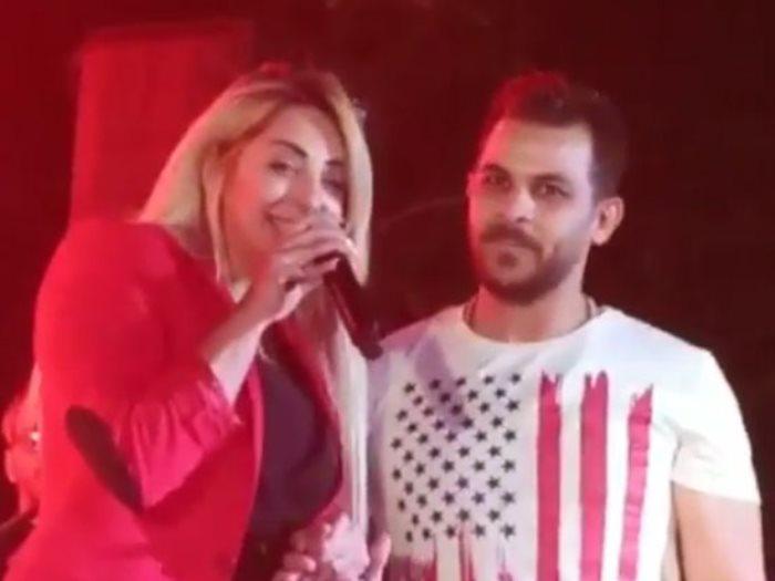مى حلمى ومحمد رشاد