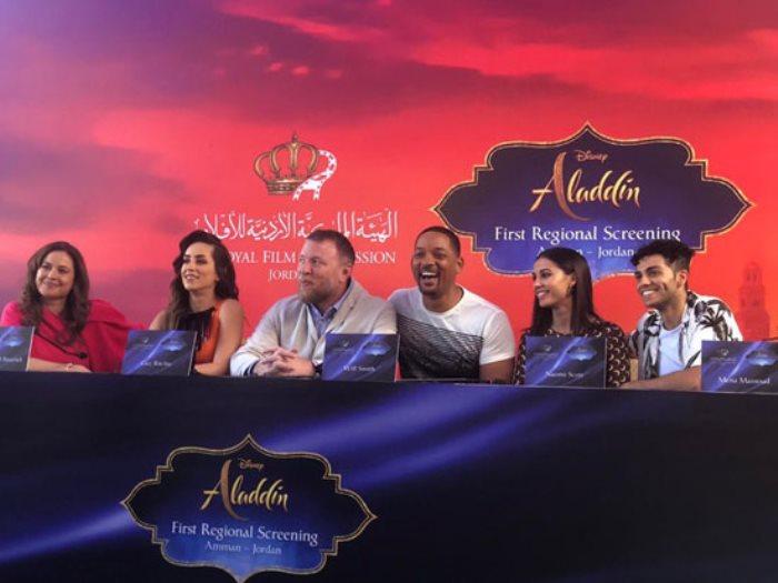 نجوم فيلم Aladdin