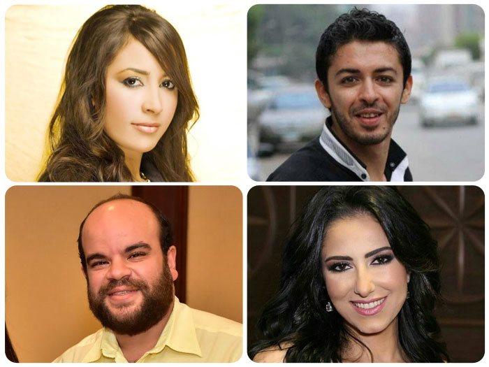 هيثم محمد وحنان مطاوع وجنات ومحمد عبد الرحمن توتا