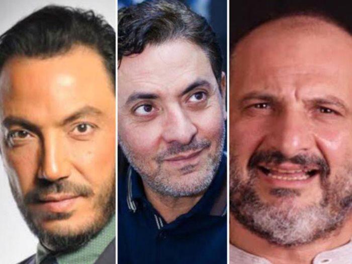 خالد الصاوى و فتحى عبد الوهاب و طارق لطفى