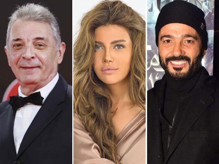 خالد النبوى وريهام حجاج ومحمود حميدة