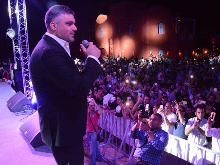 فارس كرم يحيى حفلا غنائيا فى سوريا 11 يوليو عين