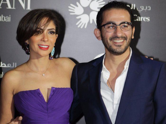 أحمد حلمى و منى ذكى