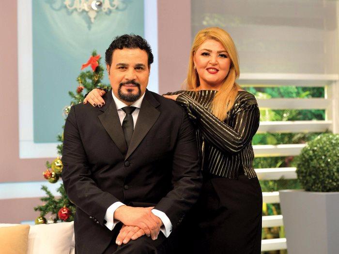 مها أحمد وزوجها مجدى كامل