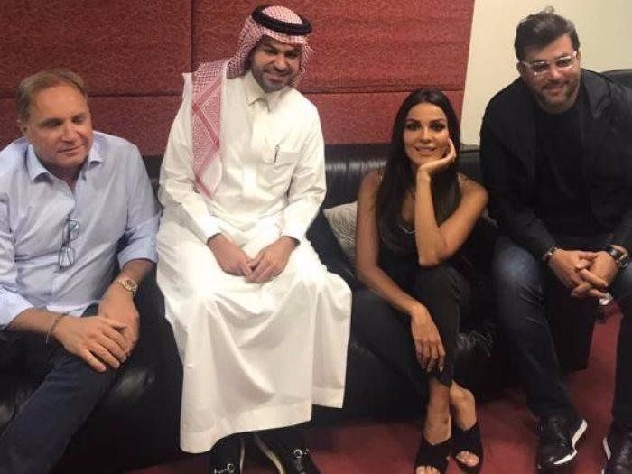 نادين نجيم تحتفل بذكرى زواجها فى دبى عين