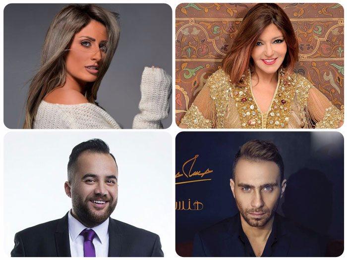 سميرة سعيد ونهال نبيل وعلى الألفى وحسام حبيب