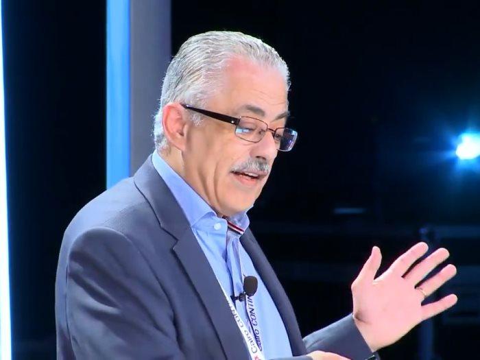 اليوم وزير التعليم فى من ماسبيرو على القناة الأولى عين