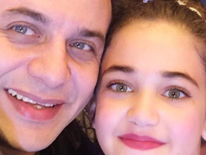 مصطفى قمر و ابنته جودى