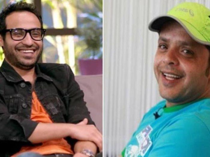 محمد هنيدى و أحمد فهمى