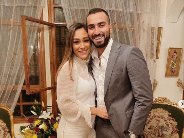 محمد الشرنوبى و خطيبته