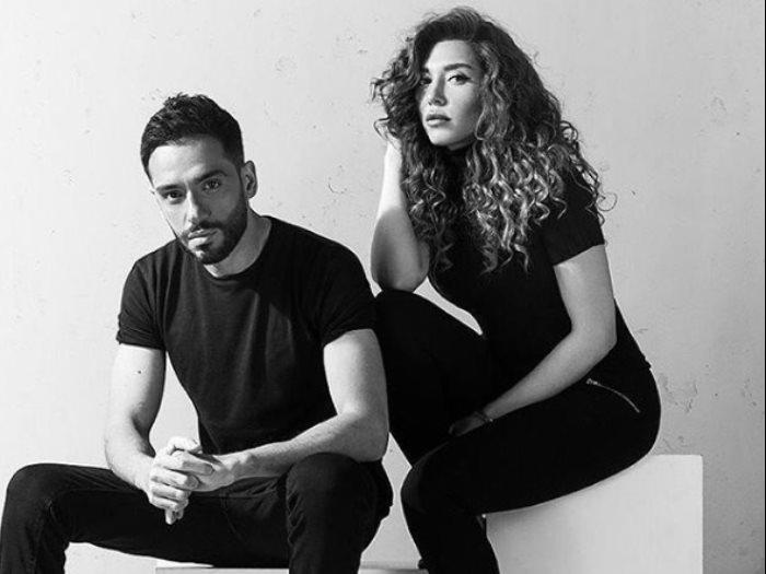 رامى جمال و زوجته