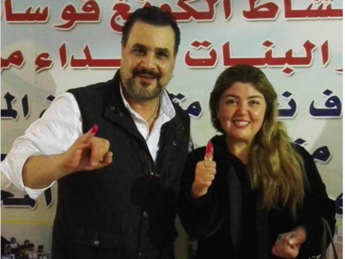 مجدى كامل ومها أحمد