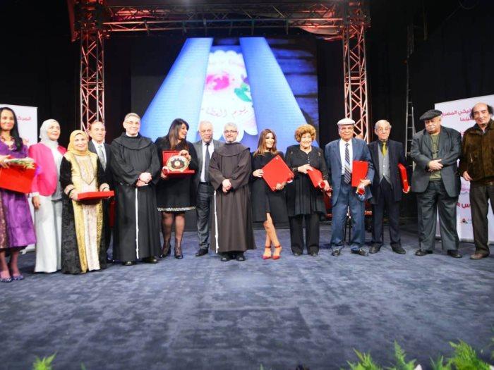 جانب من احتفالية المركز الكاثوليكى برئاسة الأب بطرس دانيال