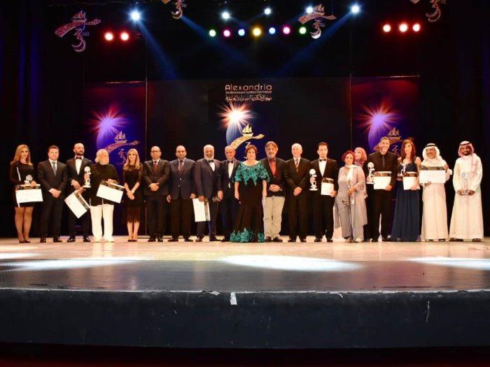 الفائزون والمكرمون فى مهرجان الإسكندرية السينمائى