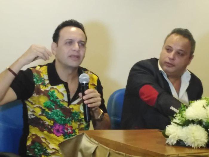 مصطفى قمر مع تامر عبد المنعم