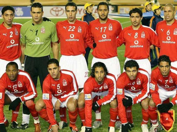 فريق الأهلى 2005