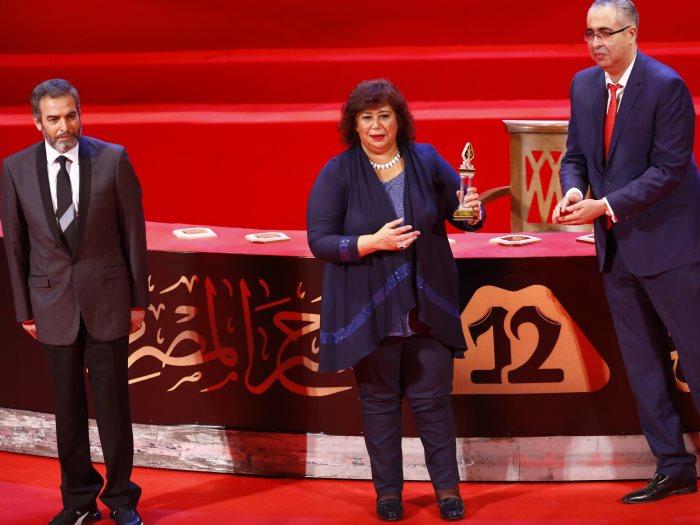 من حفل ختام المهرجان القومي للمسرح المصري