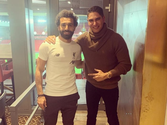 رجل الأعمال احمد أبو هشيمة و محمد صلاح