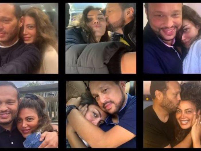ريهام حجاج و زوجها رجل الأعمال محمد حلاوة