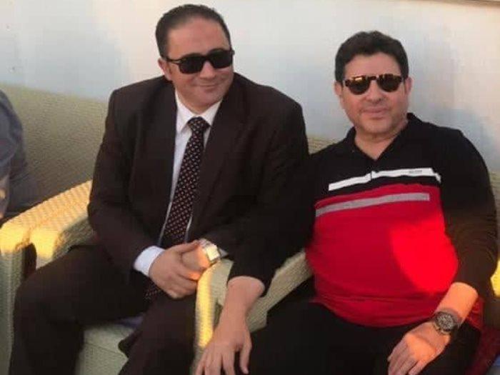 هانى شاكر وياسر قنطوش المستشار القانونى للموسيقيين