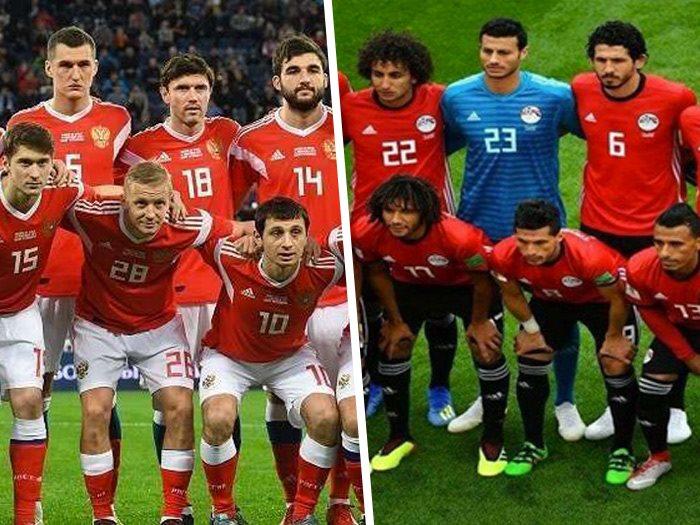 موعد مباراة مصر وروسيا عين