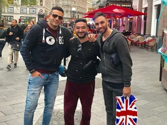 محمد نور و نادر حمدى وأحمد شامى